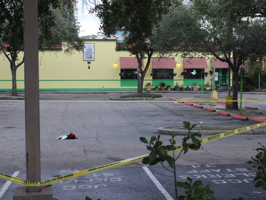 Two people injured in the 2015 shooting at El Patron are suing the restaurant, its property management company and the security company.