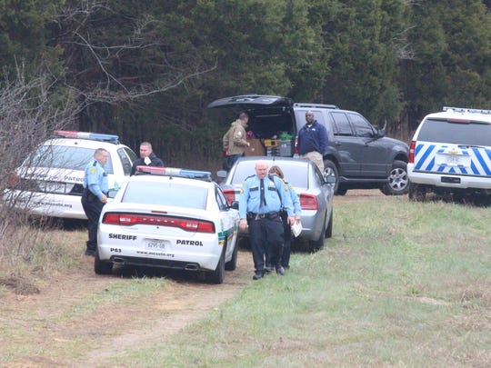 A body was found in the woods off Taurus Road in Palmyra