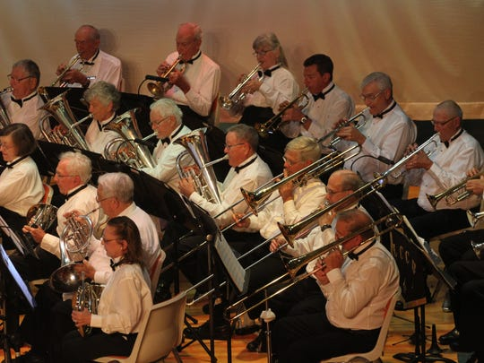 The Lee County Community Band performs for a packed house during a performance at Cape Coral High School on Sunday. The Lee County Community band is supported through donations and was originally formed on November 21, 1885. Their next free performance will be January 10, 2016 at 3:00pm at Cape Coral High School.