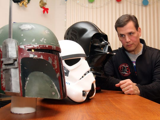 "Peekskill's Bob DeSimone is just one of the local die hards eagerly awaiting ""The Force Awakens."""