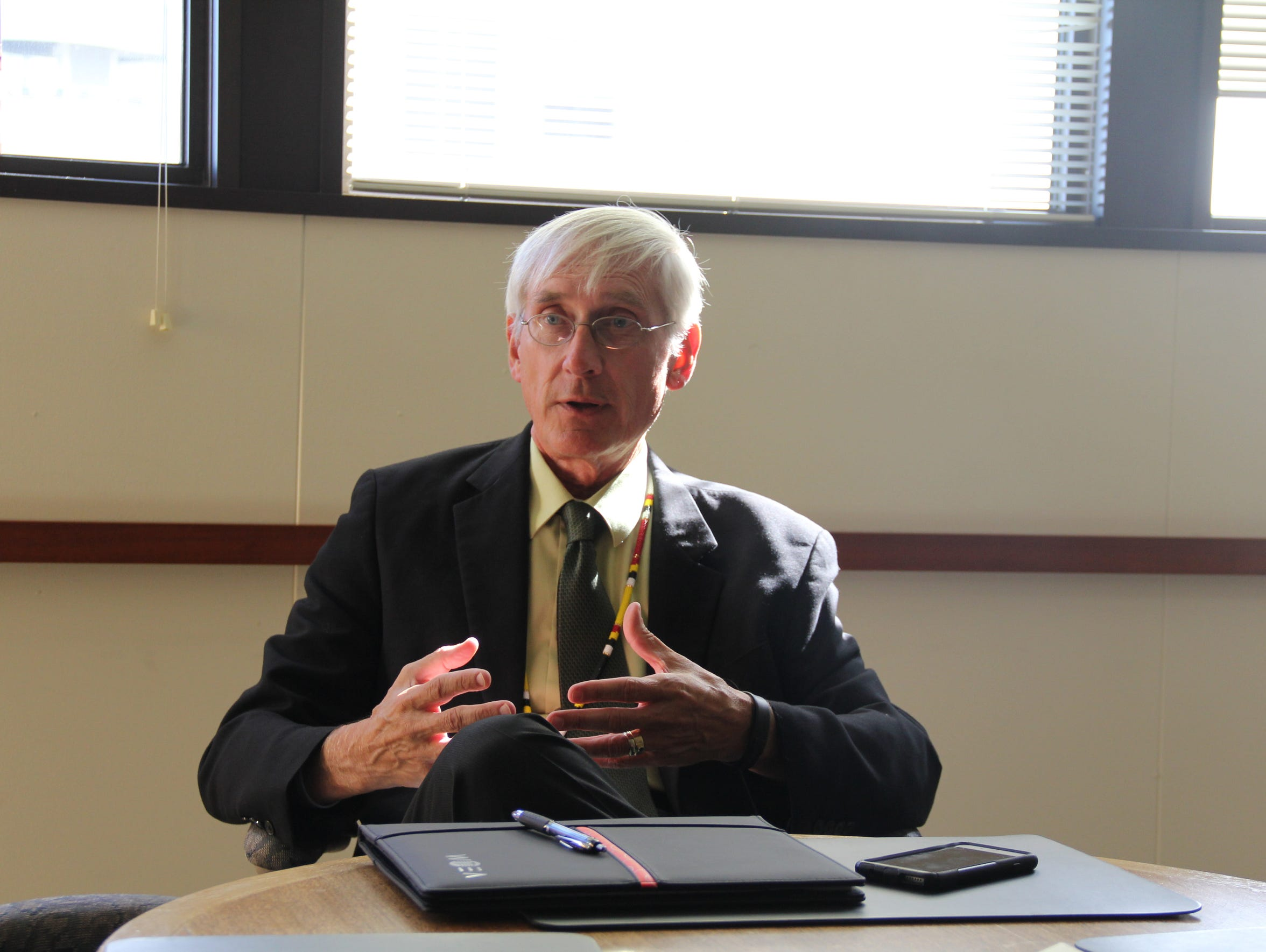 State Superintendent of Public Instruction Tony Evers,