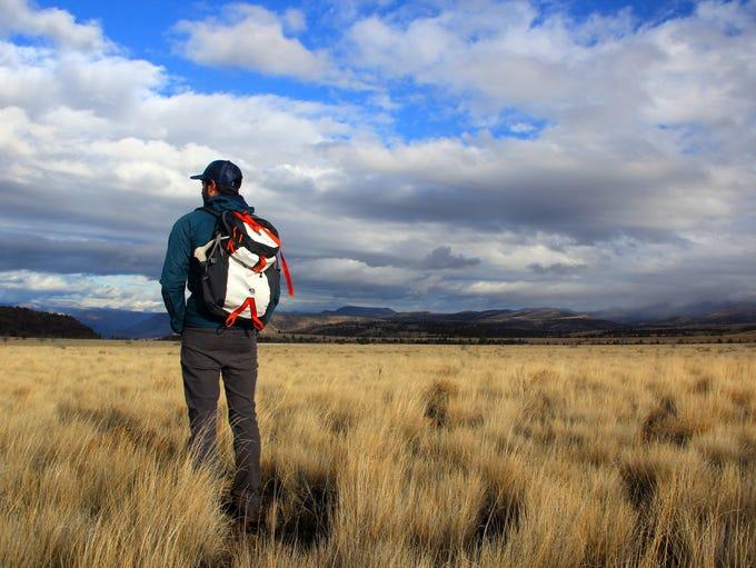 Ben Gordon, ONDA stewardship director, on the plateau