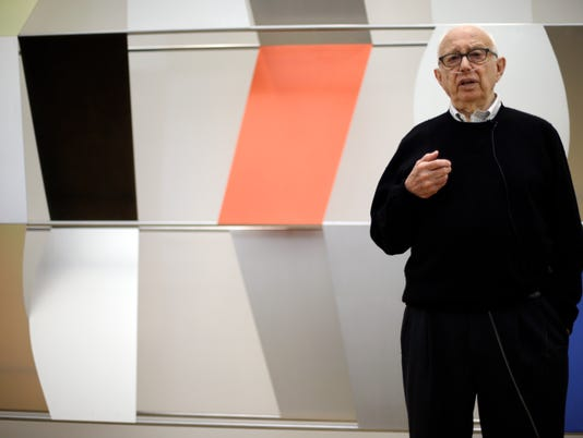 Ellsworth Kelly, master of abstract art, dies at 92