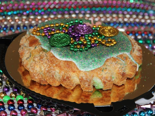 The Fresh Market locations in south Louisiana are known for king cakes that are a hybrid of the traditional and modern versions available in Louisiana.
