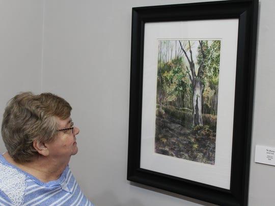 Janet Jones Felts' artwork was featured January 7 in Clarksville's Artist Co-Op.