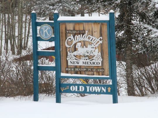 Cloudcroft officials are hoping the recent snowfall will draw tourist to the village in the Sacramento Mountains.