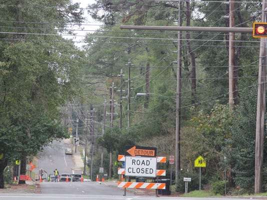 7th Avenue road closure