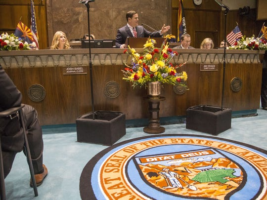Gov. Doug Ducey address his State of the State address