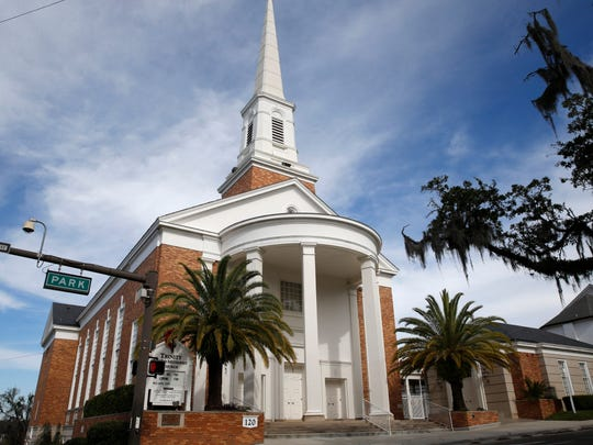 Trinity United Methodist Church is located at 120 W. Park Ave. in downtown Tallahassee.