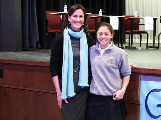 Eighth grader Faith Bulan of New Providence wins annual
