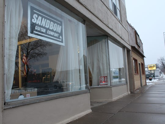 Sandbom Guitar Company has a new storefont at 626 N. Third Ave., Wausau.