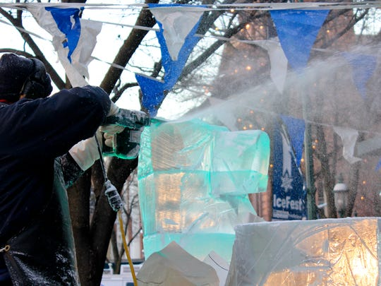 DiMartino's wil be back for the 14th annual IceFest Jan. 28-31.