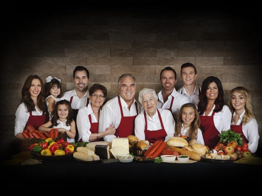 The Spinato family. Spinato's Pizzeria was started