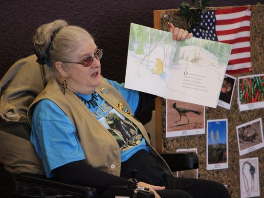 Gail Lloyd, a docent at Living Desert Zoo and Gardens