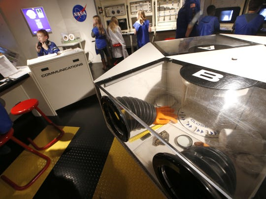 Challenger Learning Center has a multitude of interactive learning stations where children can simulate space launches and other NASA projects from inside the 32,000-square-foot facility at Kleman Plaza.