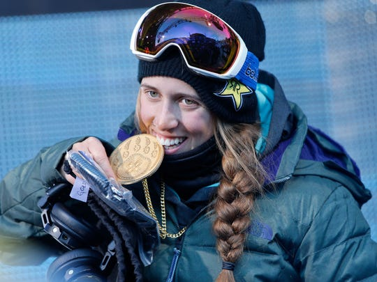 ASPEN, CO - JANUARY 22: (FRANCE OUT) Maddie Bowman