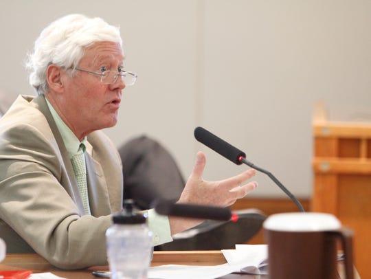 David Abbey, legislative finance committee director,