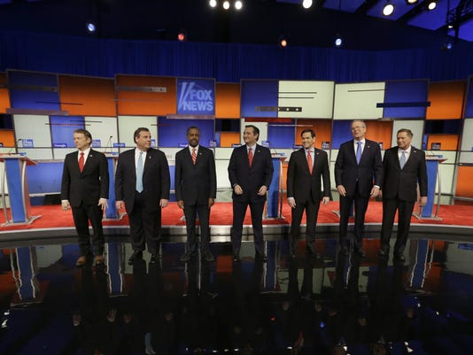 Rand Paul, Chris Christie, Ted Cruz, Marco Rubio, Jeb Bush, John Kasich