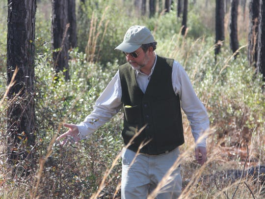 Leon County Forester Stan Rosenthal is retiring after a 30-year career