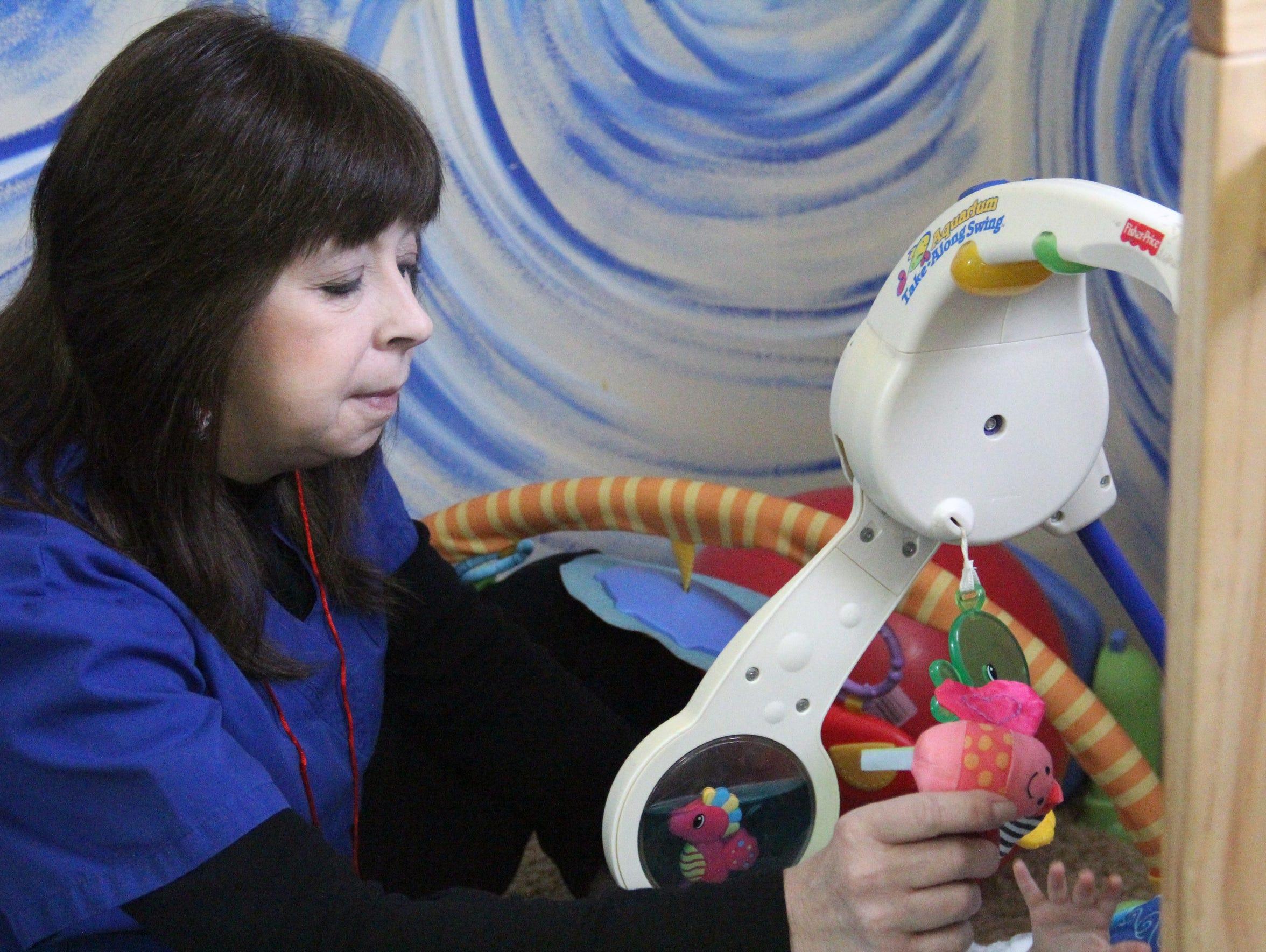 Sherry Middleton, a caregiver at Porter's Chapel Daycare