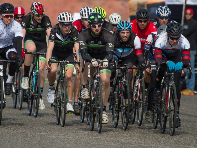 Cyclist from St. George and surrounding areas race