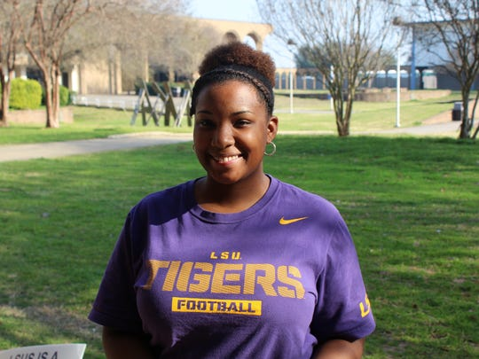 Amber Knight, sophomore accounting major at LSUS