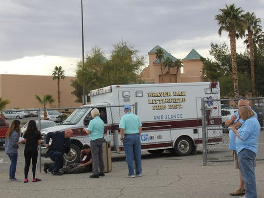 Mesquite Fire and Rescue, Mesquite Police Department, Mesquite City Council and Mesa View Regional Hospital collaborated for disaster training on Wednesday.