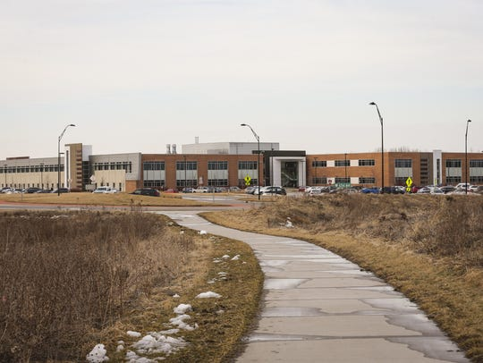 The business campus of DuPont-Pioneer in Johnston,
