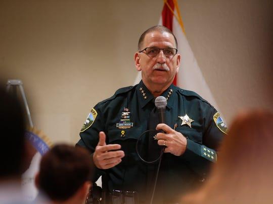 Leon County Sheriff Mike Wood