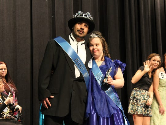 James Porter and Summer Curtis, were crowned king and