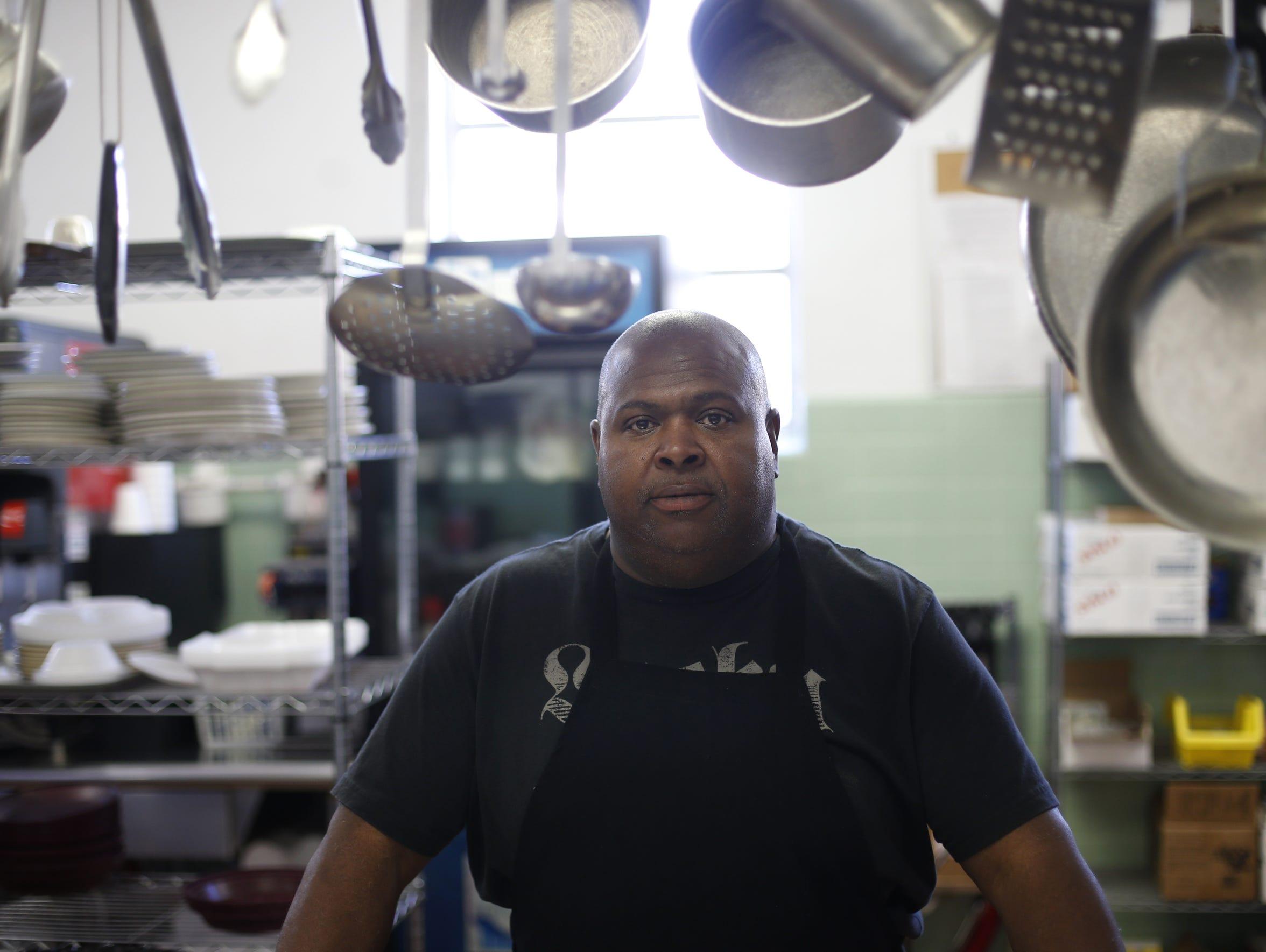 Sam Davis, the dietary manager at Calhoun Liberty Hospital