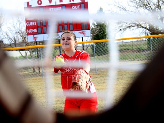 Lady Falcon Softball
