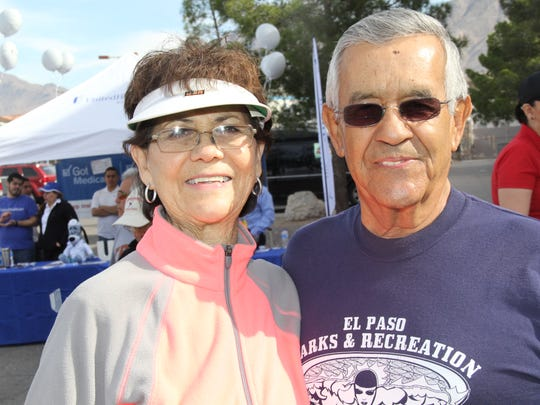 Yolanda Uranga, left, and Armando Uranga