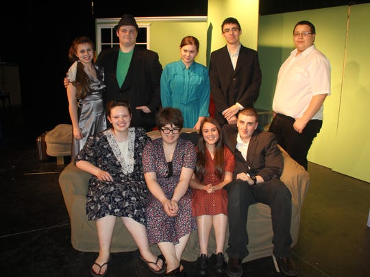 """The cast of """"The Diary of Anne Frank,"""" to be presented"""