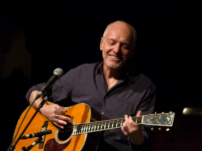 Peter Frampton performs at the Orpheum Theater on Thursday,