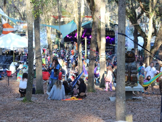 The Spirit of the Suwannee Music Park provided a beautiful
