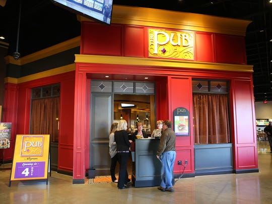 The entrance of the new Wegmans Pub in the Perinton store.