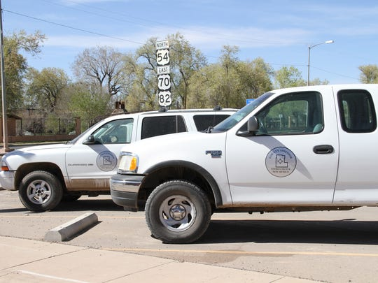 Some Otero County owned vehicles aren't moved for weeks at a time causing a parking problem over at the Otero County Annex.