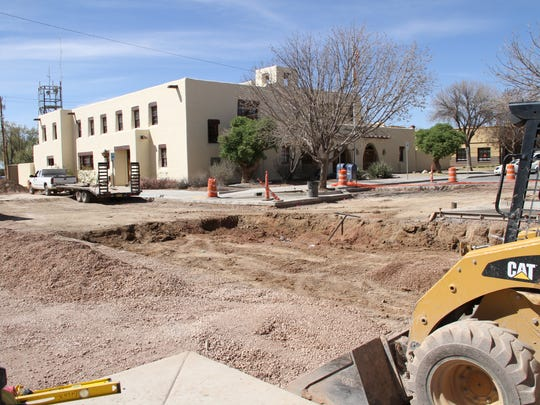 Due to construction activities, the intersection of 11th Street and New York Avenue has been closed until March 25 making parking more difficult at the Otero County Annex.