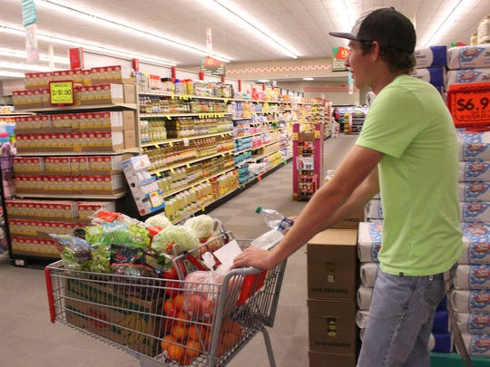 Help limit the spread of COVID-19 by shopping for your essentials alone.