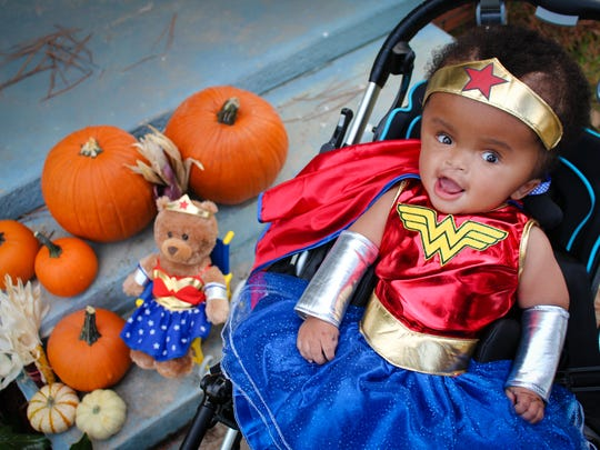 "Nika, 2, is nothing short of ""Wonder Woman."""