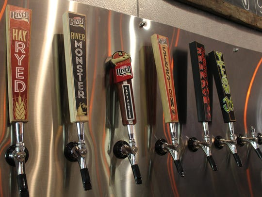 Eight beers will be on tap at the Red River Brewing