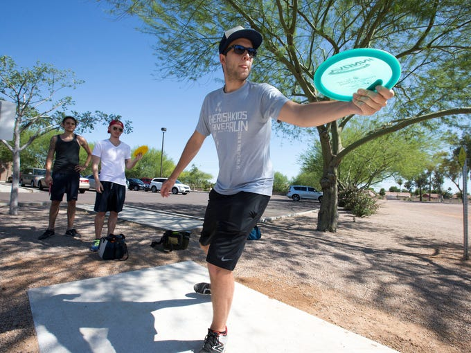 Disc golf is growing in popularity. The Phoenix area