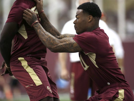 James' work ethic is second-to-none on FSU's roster.