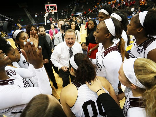 NCAA Womens Basketball: SEC Basketball Tournament - Tennessee vs Mississippi State