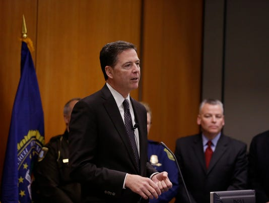 AP FBI DIRECTOR DETROIT A USA MI