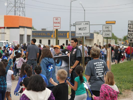 Walk Against Child Abuse