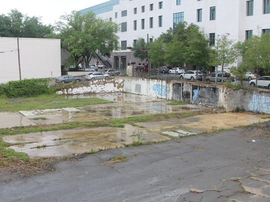 Fairmont Development is planning on redeveloping the former site of the Ausley and McMullen law firm, shown here.