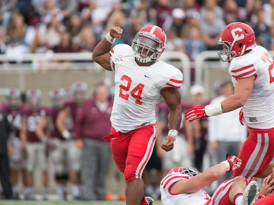 Cornell inside linebacker Miles Norris forced two fumbles and made 48 tackles during the 2015 season.