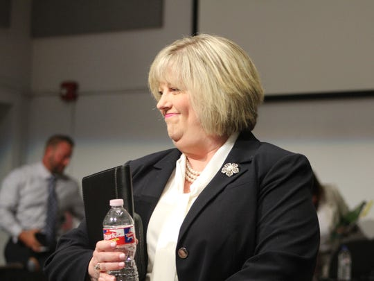 Bossier Superintendent candidate Sherri Pool smiles